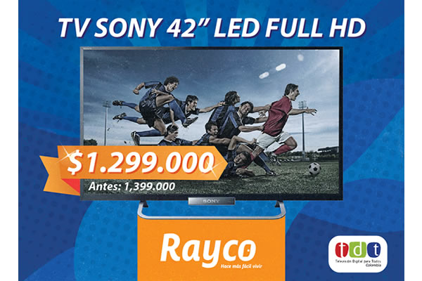 TV SONY LED 42 Pulgadas